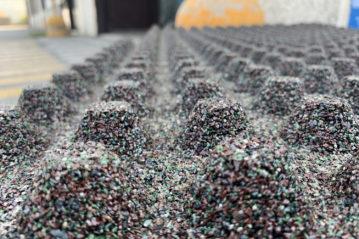 sabbie di parma - produzione sabbie per impianti sportivi - riciclo erba sintetica fine vita