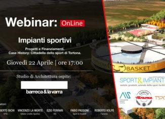 Webinar Impianti Sportivi: Cittadella dello Sport di Tortona