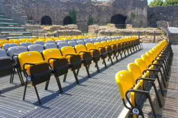Milani Valerio srl seats for sport and entertainment